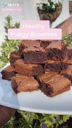 Healthy Sweet Snacks, Healthy Deserts, Healthy Sweets, Healthy Dessert Recipes, Sweets Recipes, Healthy Baking, Snack Recipes, Healthy Food, Fun Baking Recipes