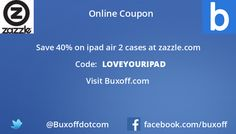 Latest zazzle Coupon on Buxoff Visit to know more