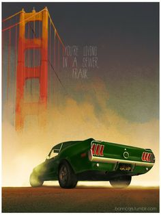 Famous Movie Vehicles By Nicolas Bannister