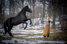 Model: Amanda Paulina Pawłowska Horse Model: Sonia Make up: Marta Beczek Make Up Artist Photographer: Adrianna Kunikowska