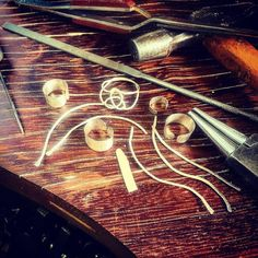 Snap shot of my day. Works in progress.  #handcrafted #handmade...
