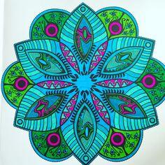 Mandala with stabilo pen68