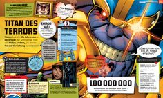 Marvel - Absolutely Everything You Need To Know - Dorling Kindersley - kulturmaterial - Thanos