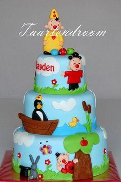 Bumba & Friends Cake