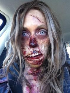 25 Most Scariest Zombie Makeup Attempts Of All Time That Will Give You Goose Bumps