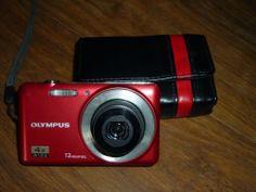 Olympus V series VG-110 12.0 MP Digital Camera - RED