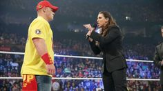 Mr. McMahon calls The Authority and John Cena to the ring: photos | WWE.com