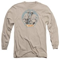 Chips - Baker And Ponch Adult Long Sleeve T-Shirt