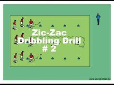 Dribbling Drills For Soccer - YouTube