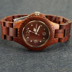Mens Wood Watch  Unique Gift for Him  by leatherwrapwatches, $55.00