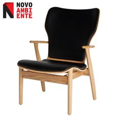 Cadeira Domus Lounge por Ilmari Tapiovaara