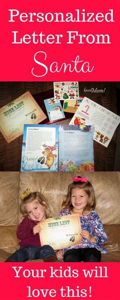 Order a Personalized Letter from Santa!