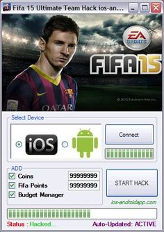 Fifa 15 hack tool no survey download is here. Get this free fifa 15 hack tool 4 android (apk), ios, xbox. Enjoy all infinite game features.