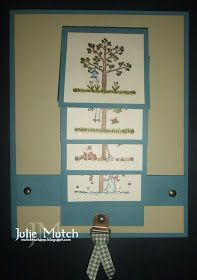 Mutch to Stamp: Four Seasons Waterfall Card and a Tutorial