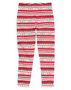 Comfy and versatile, our soft Fair Isle legging looks great worn alone or underneath a dress on cooler days.