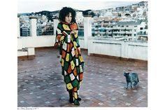 #MIRIAMARRUGA #SARAZORRAQUINO photo #BARCELONA #SPAIN #ROJOMAGAZINE #COOL #COLD #CROCHET #CAT