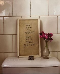 Every rest room needs this sign. Hahaha