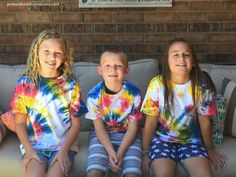 Tie Dyed Shirts - Pi