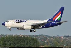 HA-LOD Malév Hungarian Airlines Boeing 737-6Q8