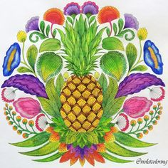 Millie Marotta, tropical wonderland, coloring books