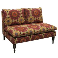 I pinned this Medallion Loveseat from the Mitra Morgan event at Joss and Main!