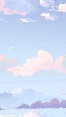 Pin by Kaylla on ✰ w a l l p a p e r Anime scenery Blue aesthetic Pastel sky