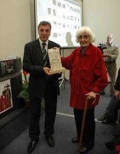 Germana Pellegrini, artista lucchese, Premio Donna del Marmo 2008.