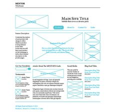 """""""In this excerpt from The Web Designer's Roadmap, Giovanni DiFeterici discusses the role wireframing plays in design, and how to create a wireframe that suits your own needs"""""""