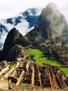 Machu Picchu, Perú. / it was beautiful but a lot of climbing at high elevation -