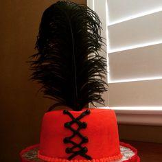 Burlesque themed Prom Cake