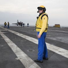 Gaulle, Flight Deck, Aviators, Aircraft Carrier, French, Toulon, Firefighter, January, French People