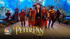 "PETER PAN LIVE (NBC, December 4, 2014) ~ Christopher Walken (as Captain Hook) tap dances and sings ""Vengeance."" (4:20) [Video]"