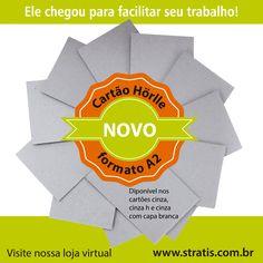 Cartão Horlle formato A2! www.stratis.com.br