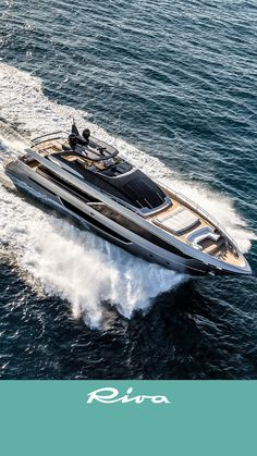 The Riva 100' Corsaro Luxury Yacht, wallpaper of May. #tablets_wallpaper #RivaYacht #Luxury #Yacht #MadeInItaly #WallPaper #ship #Riva #boats #boat
