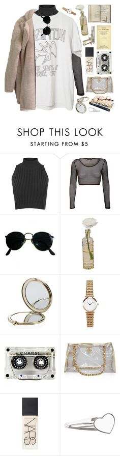 """""""if you are neutral in situations of injustice, you have chosen the side of the oppressor"""" by celhestial ❤ liked on Polyvore featuring WearAll, Brandy Melville, Ray-Ban, Cultural Intrigue, Henri Bendel, Chanel, NARS Cosmetics and Chrome Hearts"""