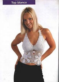 Outstanding Crochet: Crochet shoulder-strap tops.