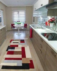 The Best 2019 Interior Design Trends - Interior Design Ideas Simple Kitchen Design, Kitchen Layout, Kitchen Decor, Kitchen Ideas, Kitchen Cabinets And Countertops, English House, Design Moderne, Cuisines Design, Küchen Design