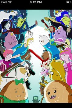 Adventure Time with Finn and Jake / Fionna and Cake