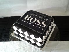 Hugo Cake Artist : 1000+ images about boss cake on Pinterest Hugo boss ...