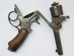 Gerard Revolver. Invented between 1871 and 1873 by the Belgian Theophile Gerard.