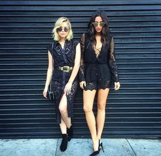 Shay Michelle and Ashley Benson rocking this style! I want these outfits!!!