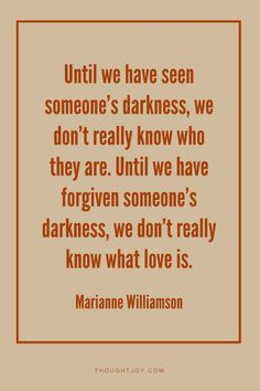 someone's darkness