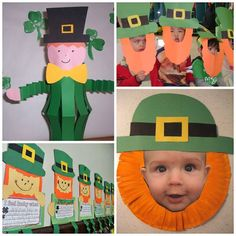 Leprechaun Crafts for Kids to Make on St. Patty's Day - Crafty Morning