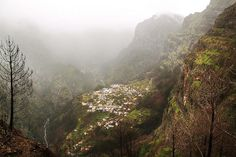 Valley of the Nuns - 10 of the most beautiful places to visit in Madeira | via GlobalGrasshopper  This woefully underrated travel destination forms part of the cluster of Portuguese owned islands located in the middle of the Atlantic Ocean. Volcanic in origin with rugged interiors lined with lush vegetarian and exotic flowers, the tourist masses tend to avoid this subtropical paradise leaving its natural beauty to those in the know.