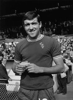 Chelsea footballer, Terry Venables, who went on to manage the England. Chelsea Fc, Chelsea Football, Laws Of The Game, Association Football, Most Popular Sports, Football Photos, Leeds United, Stock Pictures, Image Collection