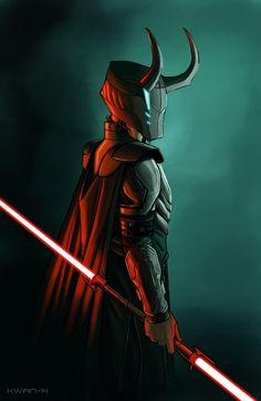 O....M.....G!!! Loki AND Star Wars?! Be still my nerdy heart <3 Loki: Sith Lord - Andrew Kwan