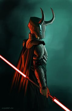 O....M.....G!!! Loki AND Star Wars?! Be still my nerdy heart <3 Loki: Sith Lord - Andrew Kwan
