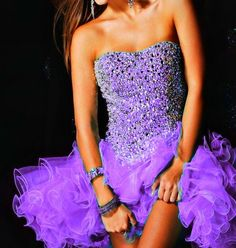 short purple prom dresses for teens for sale | Purple Prom and Homecoming Dress