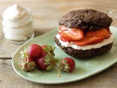 Chocolate Strawberry Shortcakes. The Perfect Valentine's Day Dessert --> www.hgtv.com/entertaining/chocolate-strawberry-shortcakes-recipe/index.html?soc=pinterest