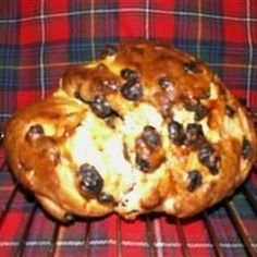 Selkirk Bannock Recipe, for Burns Night! Bannock Recipe, Scottish Recipes, British Recipes, Bread Recipes, Cooking Recipes, Cooking Tips, Burns Supper, Yorkshire Pudding Recipes, Instant Yeast